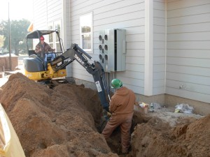 Backhoe Electrical Work in Tallahassee