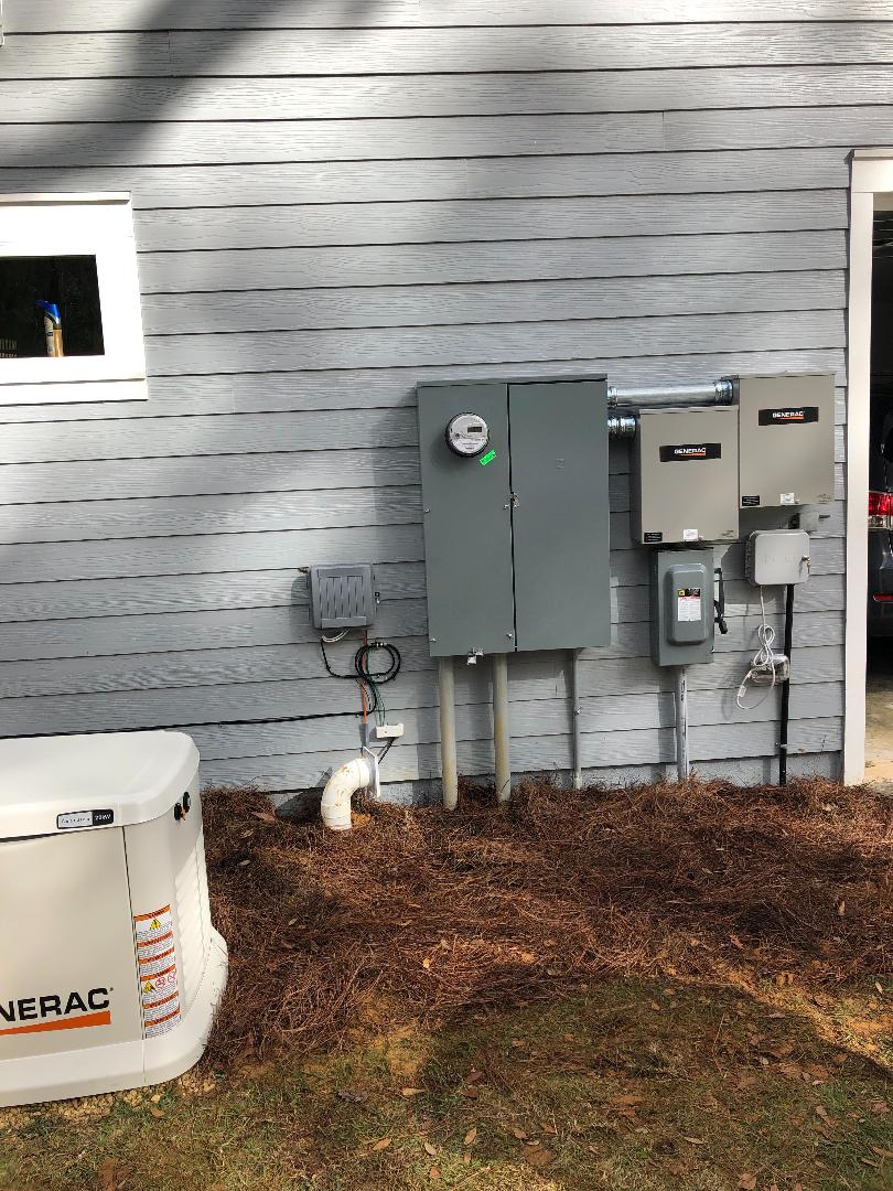 Whole House Generator Install